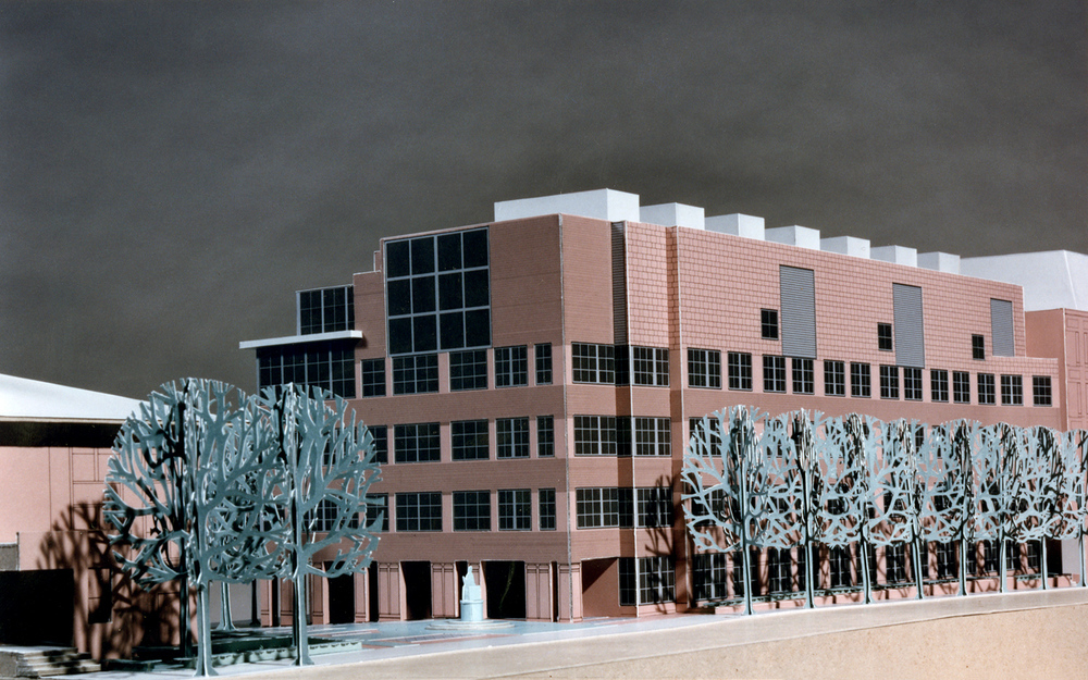 Venturi Scott Brown and Associates. Upenn Science Building Model.