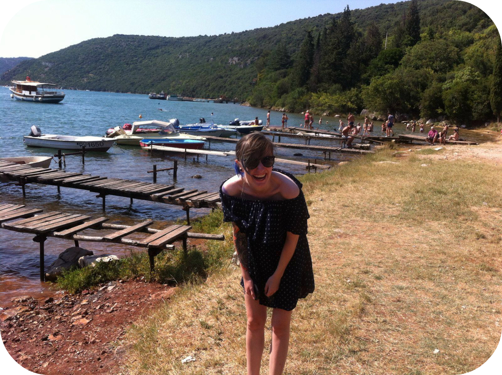croatian fjord limski