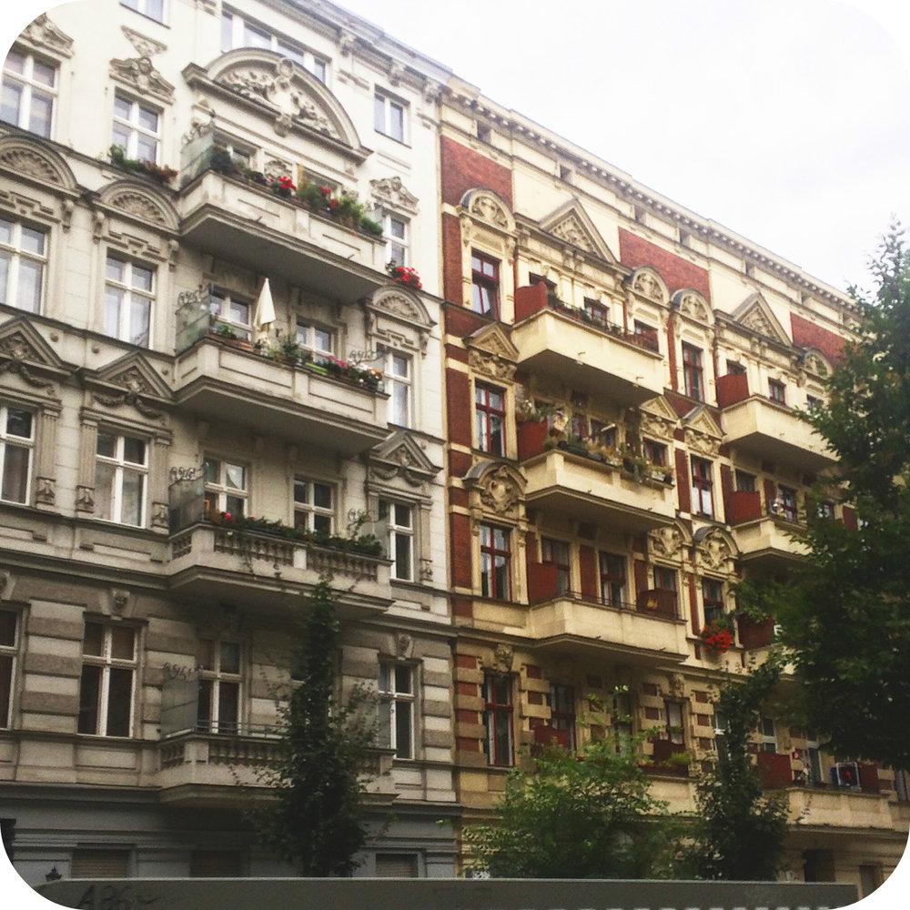 altbau buildings