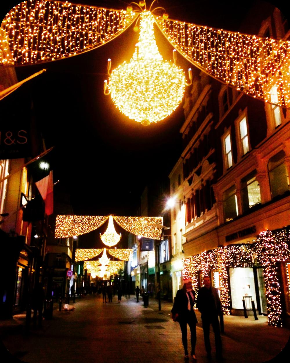 grafton street christmas lights dublin