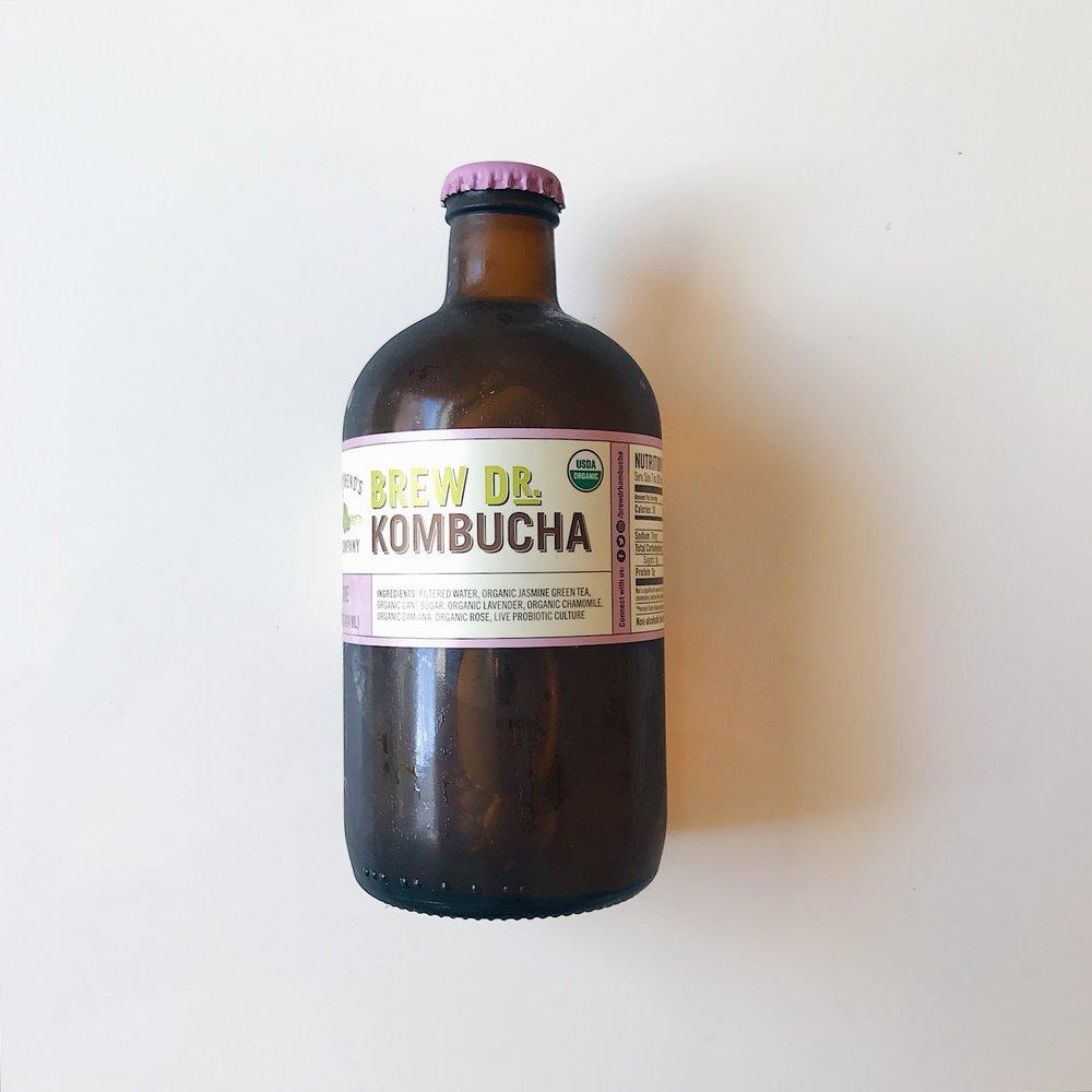 TOWNSHEND'S TEA COMPANY   BREW DR. KOMBUCHA