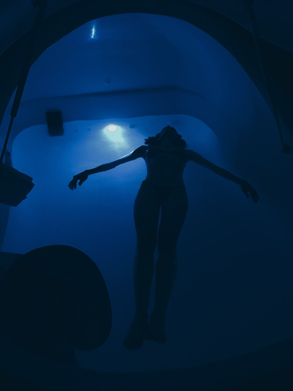 Float Therapy : Floating in a sensory deprivation tank is said to bring benefits to the physical, mental, and spiritual levels of your healing journey.