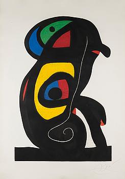 La Brahmane, 1978 by Joan Miró
