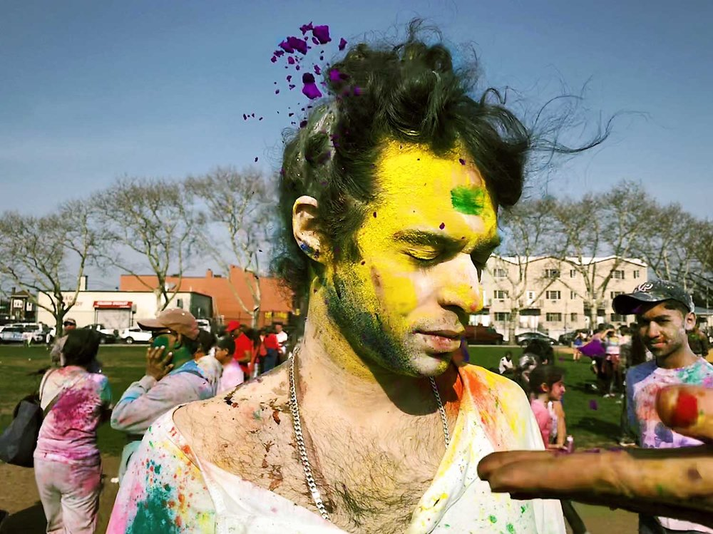 - I celebrated Phagwah Holi Festival in NYC. - Phagwah Holi Festival is the ritualistic Hindi Festival of Colors.