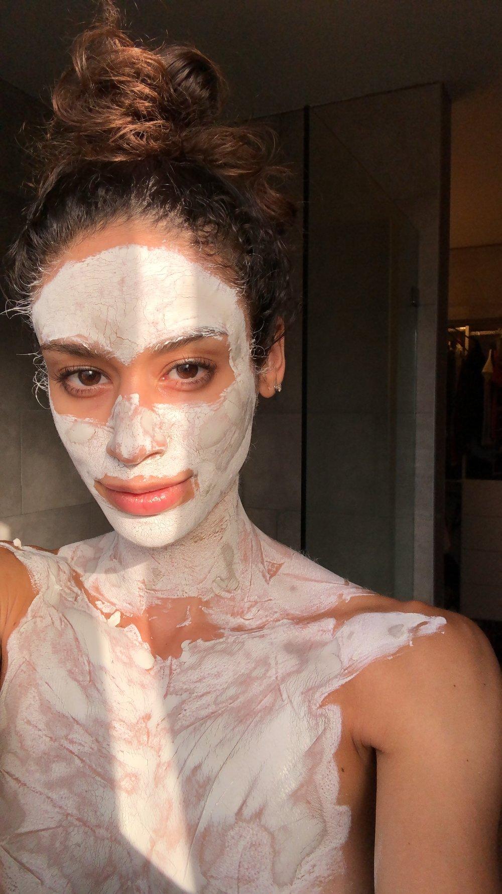 When you take masking seriously…