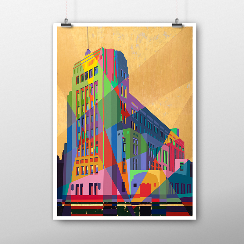 Dominion Building Poster