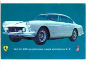 Ferrari  1960   The original brochure for the Series I 250 GT Coupe Pininfarina 2+2