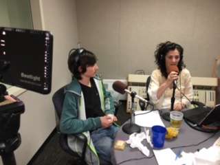 My son, Josh Gross in the studio discussing what matters most to him.