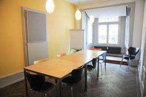 Eventraum häufig genutzt als Workshopraum
