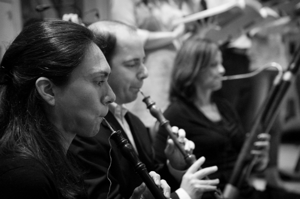 Kathryn Montoya and Stephen Bard, oboes