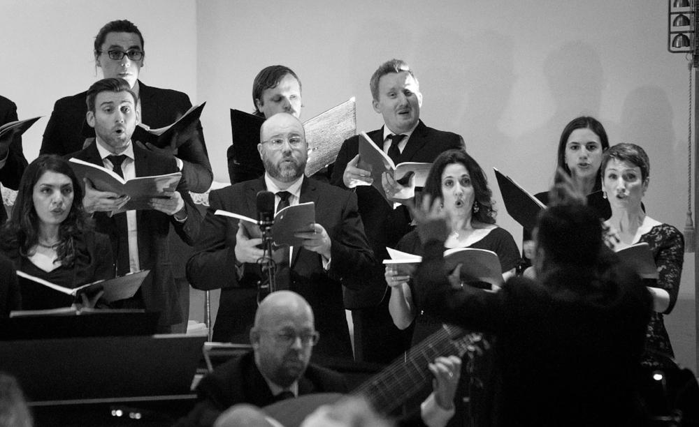 Chorus of Monteverdi's Vespers