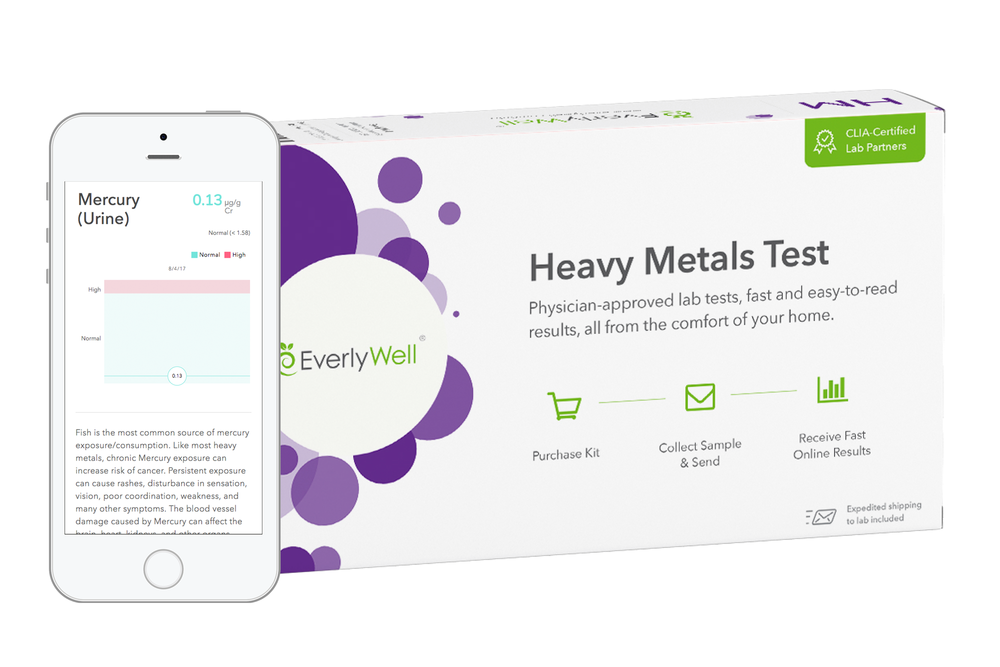 EverlyWell at home Heavy Metals Test Kit   use promotional code:  ROOTSREBOOT   at checkout for 10% discount on any kit
