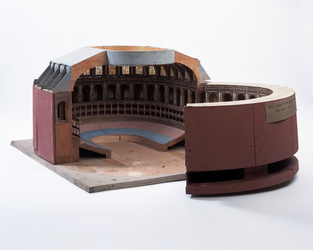 Image - The Royal Albert Hall, Architectural Model, 1864-5. (Architect: Francis Fowke). V&A Museum Collection A.10-1973.