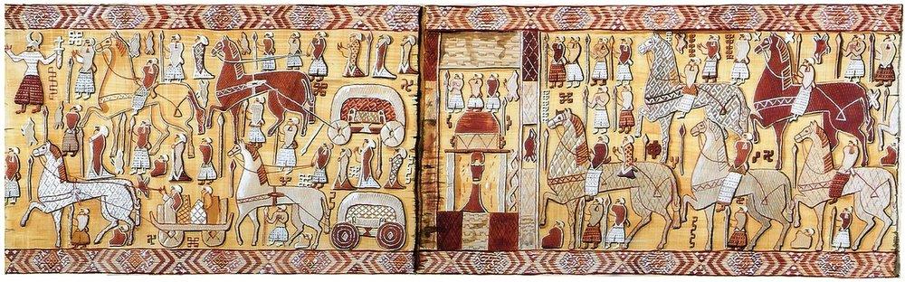 the Oseberg Tapestry