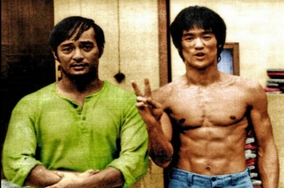DAN INOSANTO AND BRUCE LEE