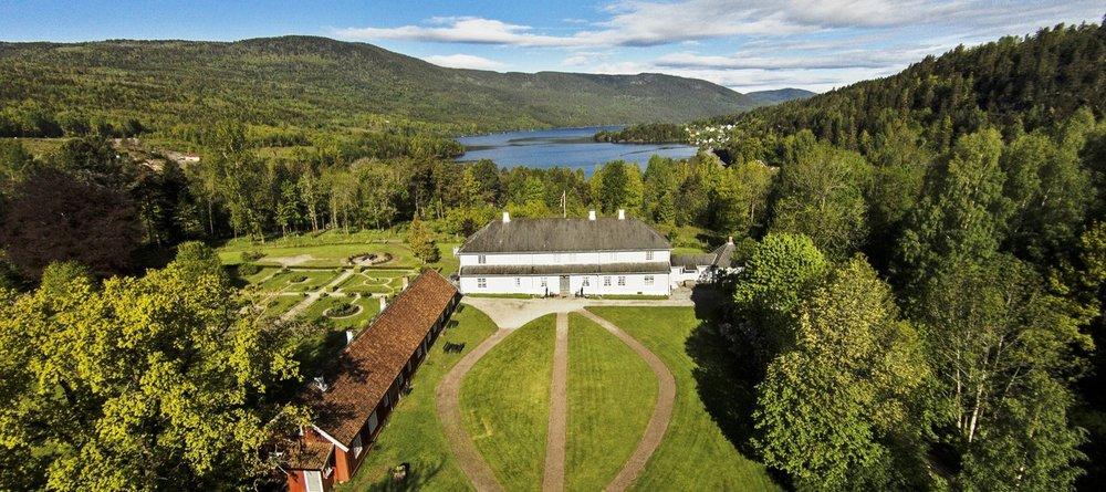 Eidsfoss Hovedgård, Vestfold County, Norway