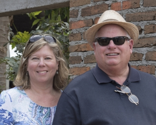 This is me and my husband Randy on vacation in Mexico. Randy sometimes comes with me on photo shoots, so thought you would want to get to know him as well.