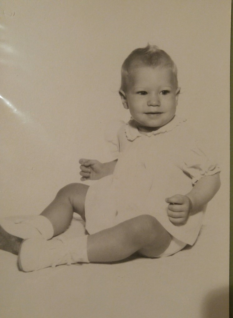 Me - must have been about 6 months old.