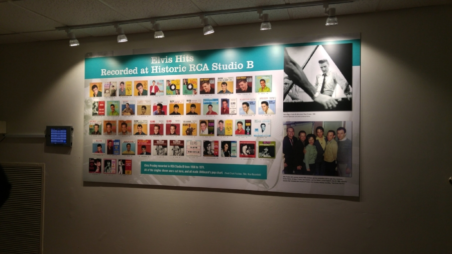 All the songs that Elvis recorded at Historic RCA Studio B!