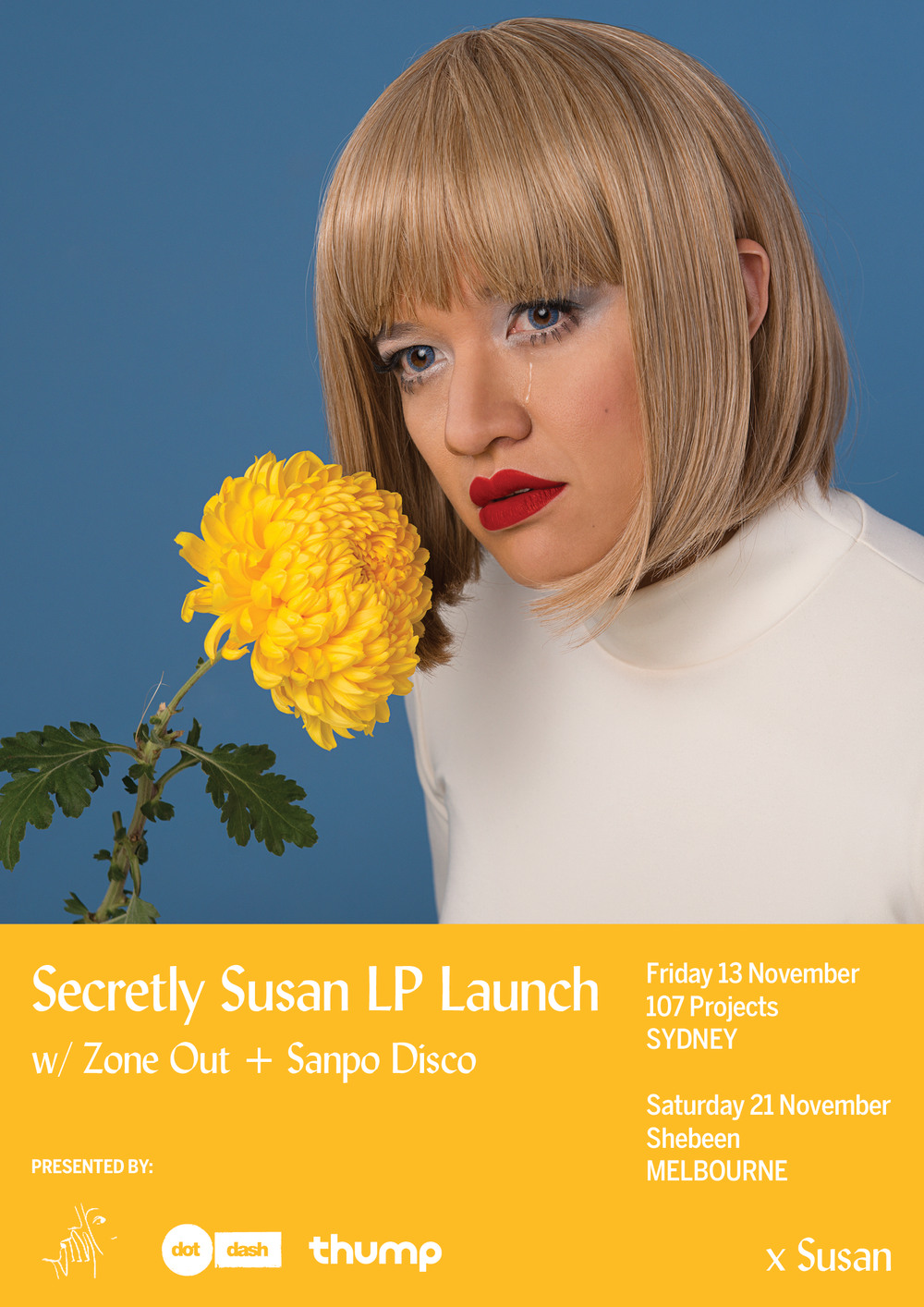 Finally, the Australian album launches for Secretly Susan. So excited.