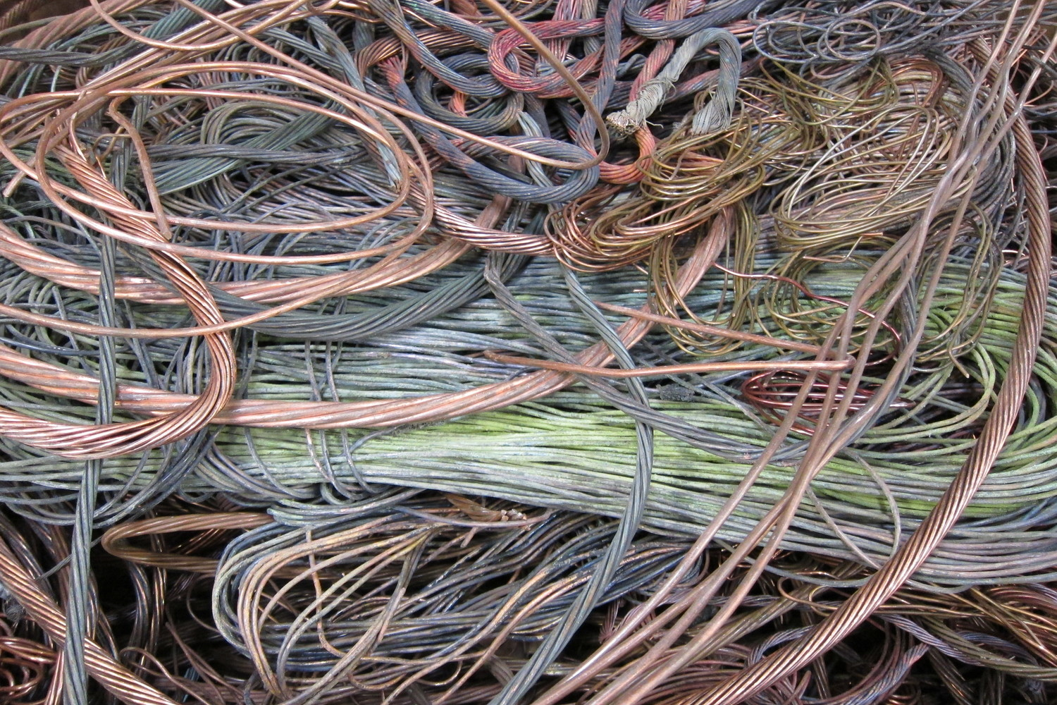 Scrap It Pine Street Salvage Wire Harness 1 Copper