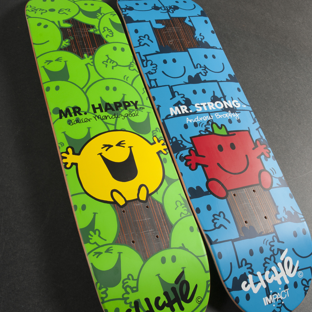 Cliche Skateboards IMPACT Support Mr. Men