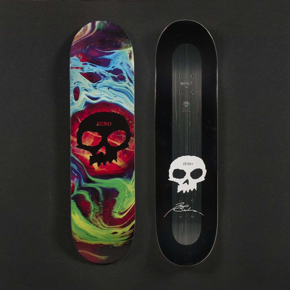 Blog impact skate zero skateboards james brockman impact light tempest skull deck aloadofball Gallery