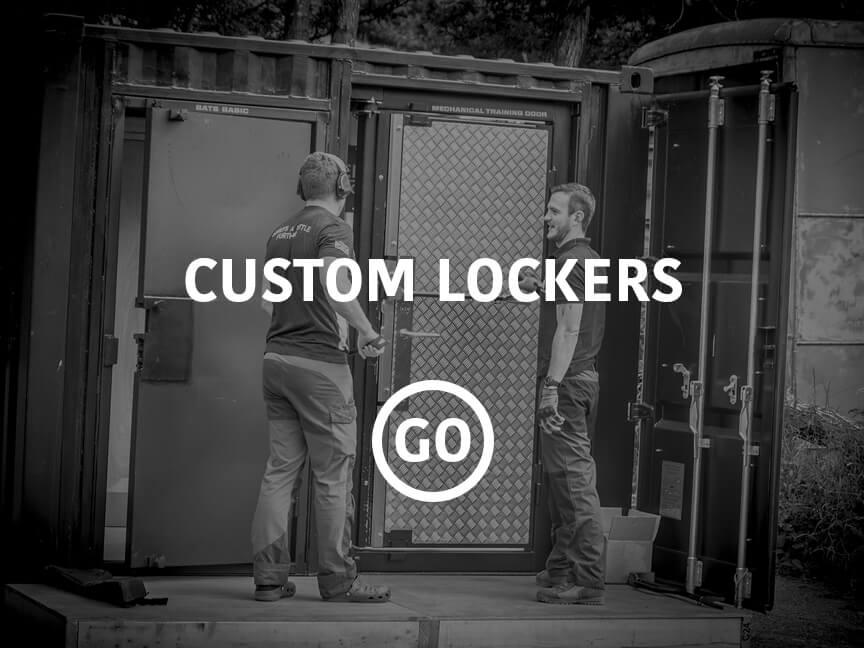 Operational Custom Lockers