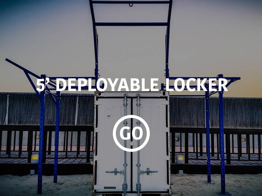 5' Deployable Locker