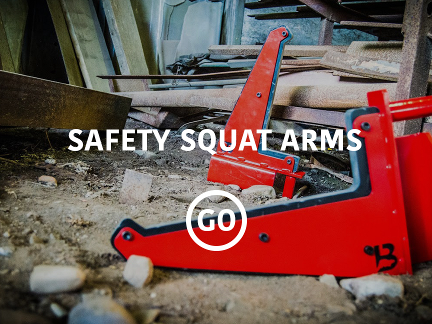 Safety Squat Arms
