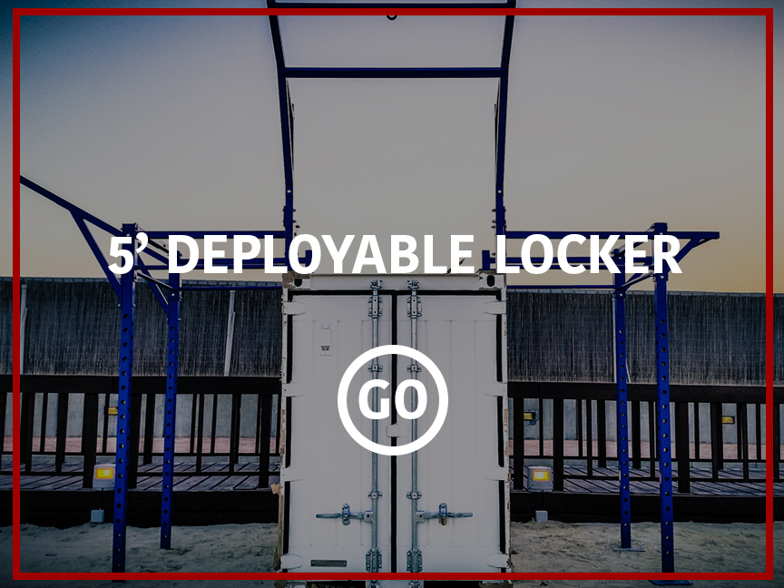 5' Deployable Locker