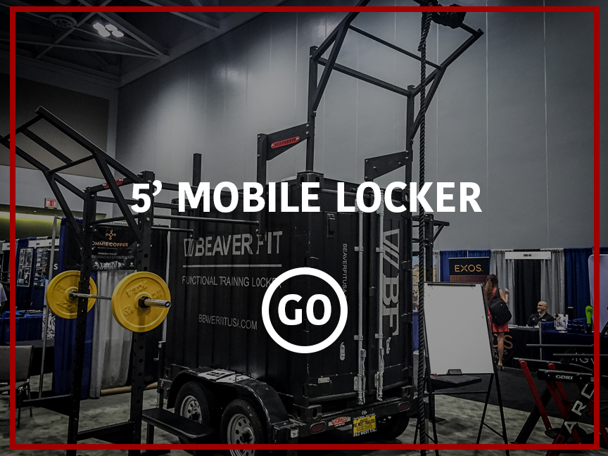 5' Mobile Locker