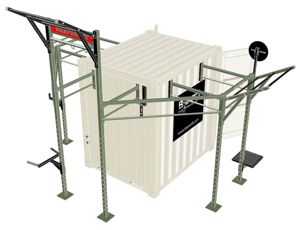 8' Deployable Locker Diagram