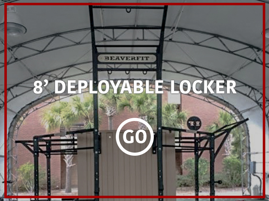 8' Deployable Locker