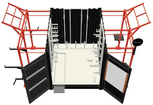 10' Deployable Locker Diagram