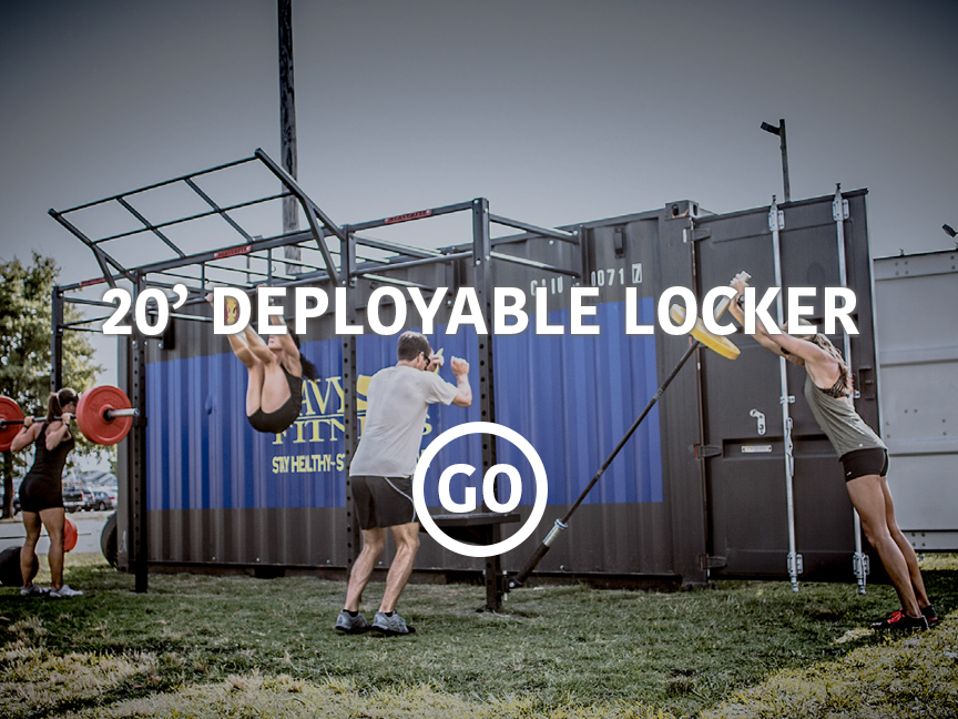 20' Deployable Locker