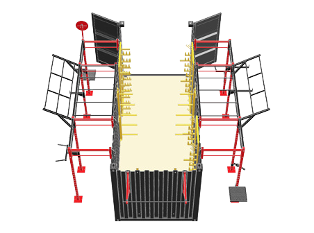 20' Deployable Locker Diagram