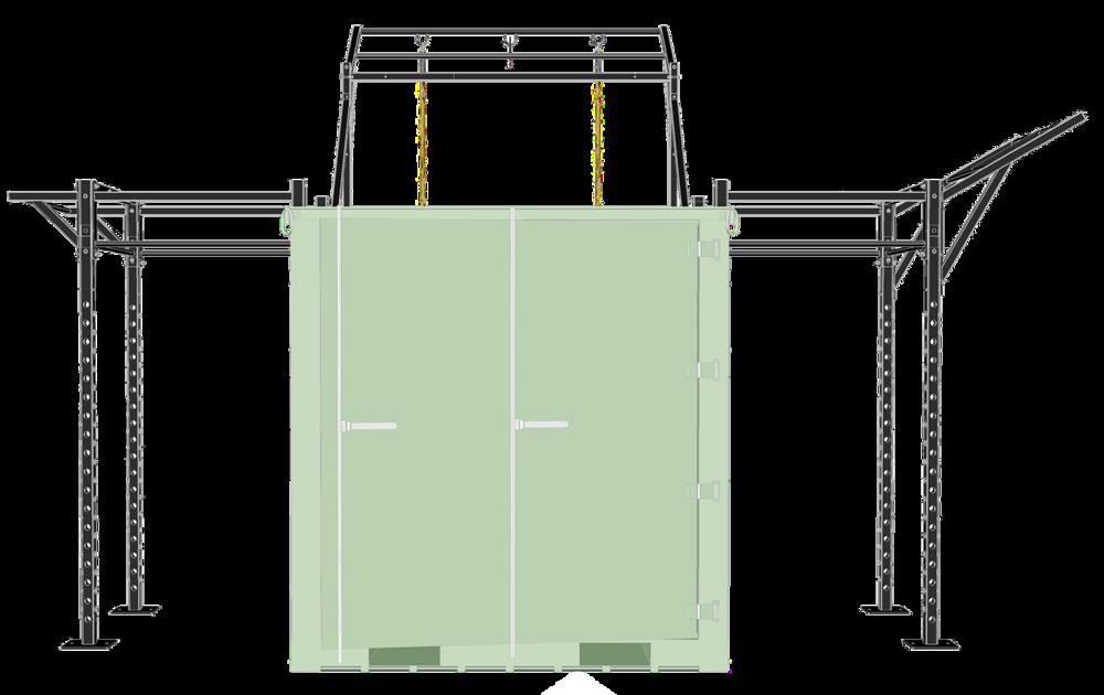 ISU90 Deployable Locker Diagram