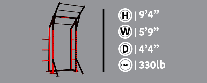 Half Rack Gray Info Box