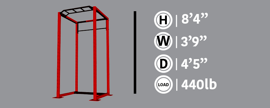 Power Rack Gray Info Box