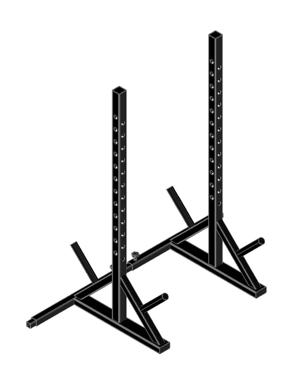 Adjustable Squat Rack Main Image