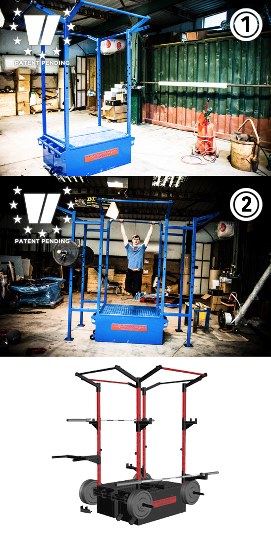 Gym Box Dual Rack Example