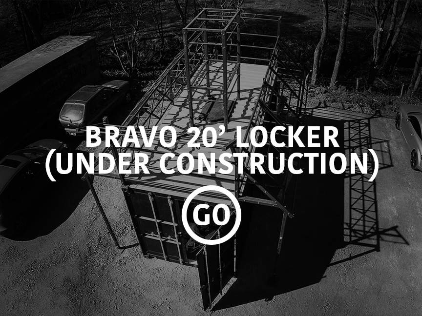Bravo 20' Locker Active