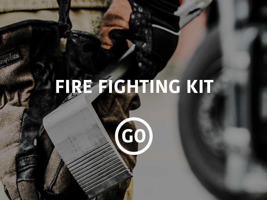 Fire Fighting Kit