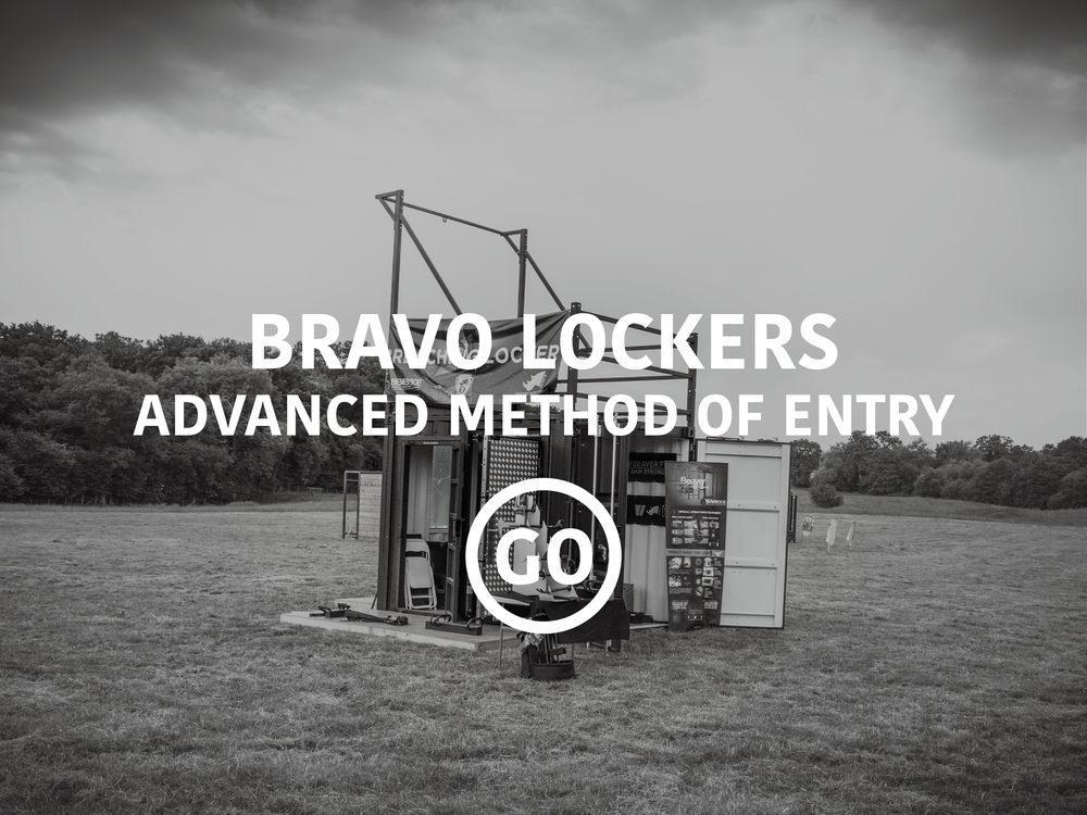 Bravo Lockers Advanced Breaching