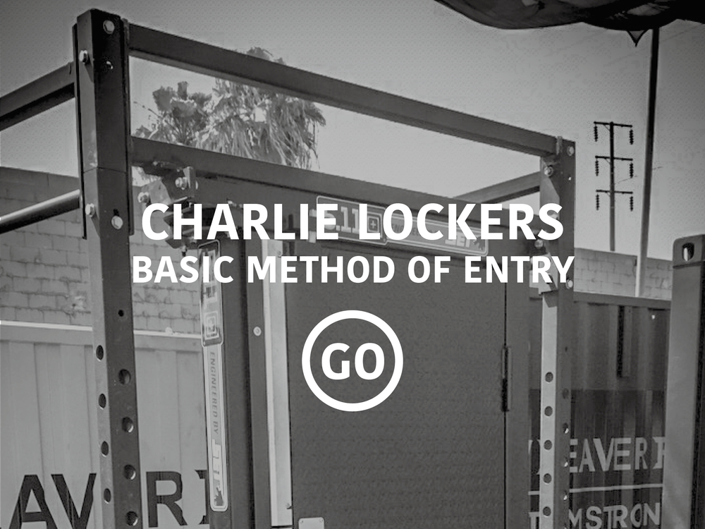 Charlie Lockers Basic Breaching
