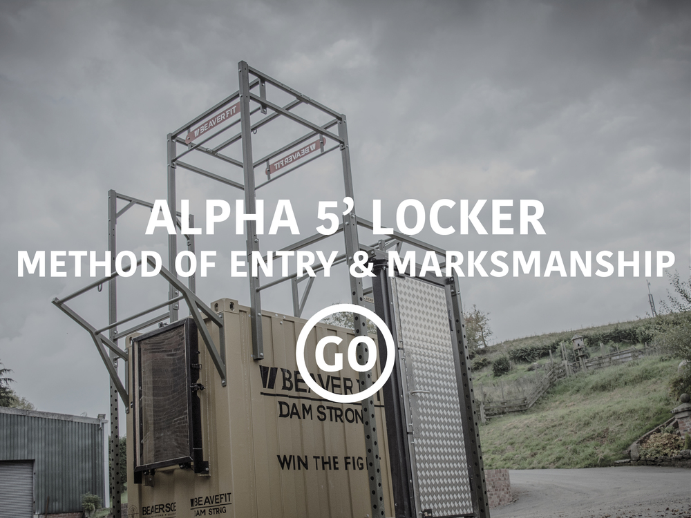 Alpha 5ft Locker Shooting & Breaching