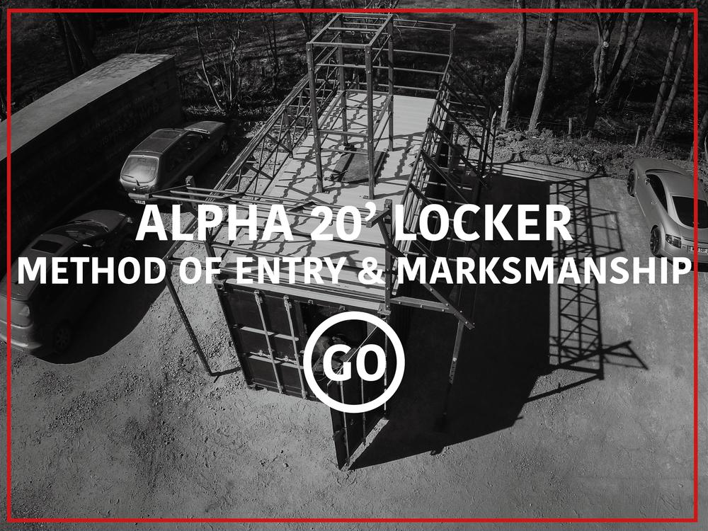 Alpha 20' Locker Active