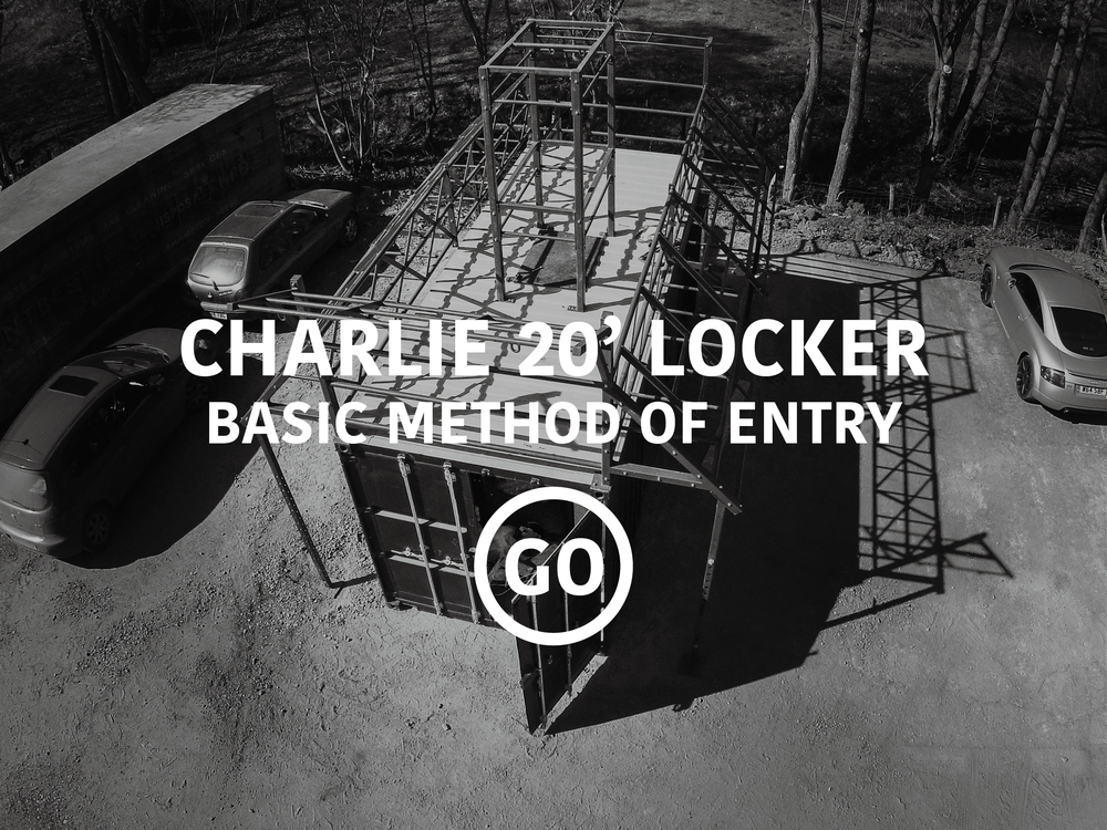 Charlie 20ft Locker: Basic Breaching