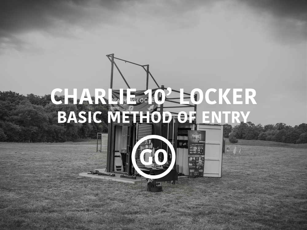 Charlie 10ft Locker: Basic Breaching